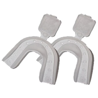 2 gouttières thermoformable - 2 Thermo forming mouth trays